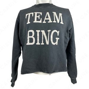 Anine Bing Team Bing Oversized Crewneck Sweatshirt